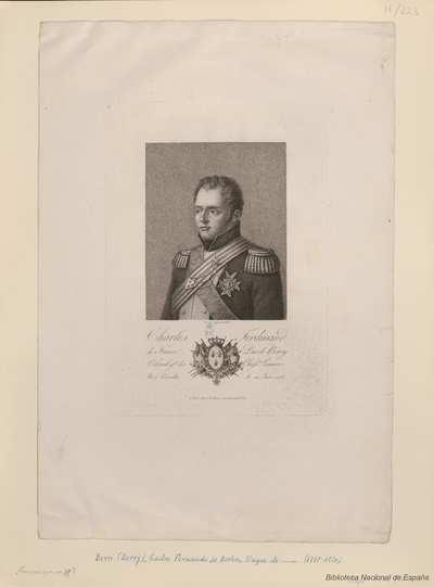 Charles Ferdinand de France, Duc de Berry