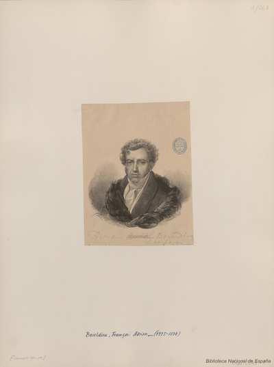 [Retrato de François-Adrien Boieldieu]