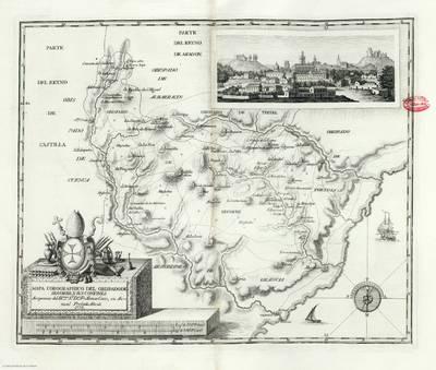 Mapa corográphico del obispado de Segorbe, y sus confines [Material cartográfico]