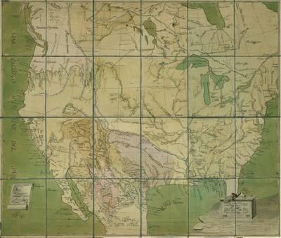Plano de las Provincias Ynternas de Nueva España [Material cartográfico]
