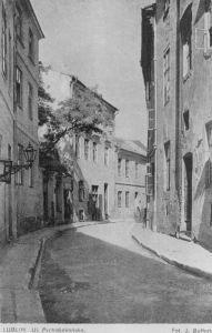 ulica Olejna w Lublinie (pocztówka błędnie oznaczona)