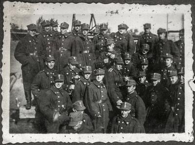 Portret żołnierzy