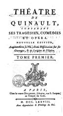 Image from object titled Théâtre de Quinault contenant ses tragédies, comédies, et opéras