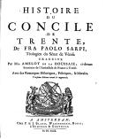 Image from object titled Histoire du Concile de Trente avec des remarques historiques, politiques, & morales
