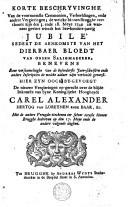 Image from object titled Korte beschryvinghe van de voornaemste ceremonien... de welcke binnen Brugghe verthoont zijn in den 3. ende 18. meye 1749..