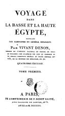 Image from object titled Voyage dans la Basse et la Haute Égypte, pendant les campagnes du général Bonaparte