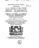 Image from object titled Sermo academicus de scientia naturali ab observationum & experimentorum sordibus repurganda quem publice recitavit die 21 Junii 1753