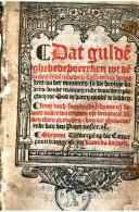 Image from object titled Dat gulde ghebedeboecxken wt de ouden ende nieuwen testamente vergadert