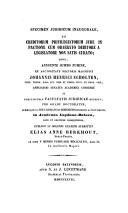 Image from object titled Specimen juridicum inaugurale, de creditorum privilegiatorum jure in pactione cum obaerato debitore a legislatore non satis curato