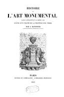 Image from object titled Histoire de l'art monumental dans l'Antiquité et au Moyen âge suivie d'un traité de la peinture sur verre