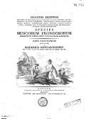 Image from object titled Joannis Hedwig Species muscorum frondosorum, descriptae et tabulis aeneis LXXVII coloratis illustratae