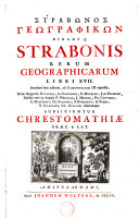 Image from object titled Strabonis rerum geographicarum libri XVII