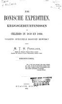 Image from object titled De Bonische expeditiën krijgsgebeurtenissen op Celebes in 1859 en 1860