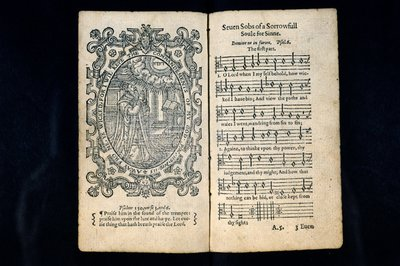 Image from object titled Seven sobs of a sorrowfull soule for sinne, comprehending those seven psalmes... comonlie called poenitential ... reduced into meeter.