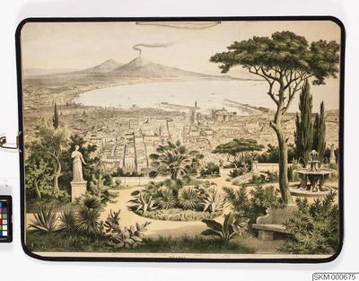 plansch, skolplansch, Neapel