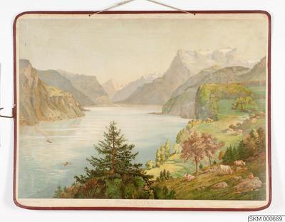 skolplansch, plansch, Vierwaldstätter See