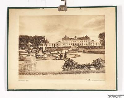 skolplansch, plansch, Drottningholms slott