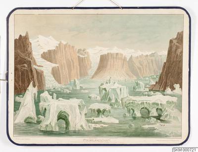 skolplansch, plansch, Polarlandschaft