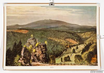 plansch, skolplansch, Harz