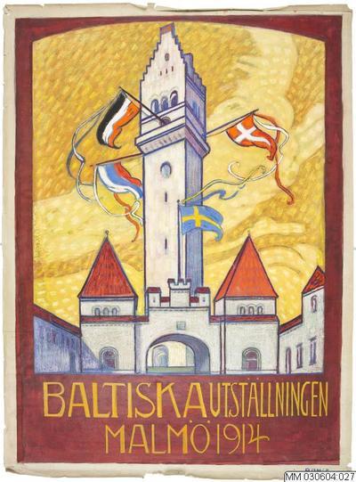 affisch, oljemålning, reklamaffisch, tävlingsförslag