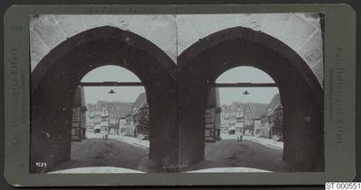 tunnel, stadsgata