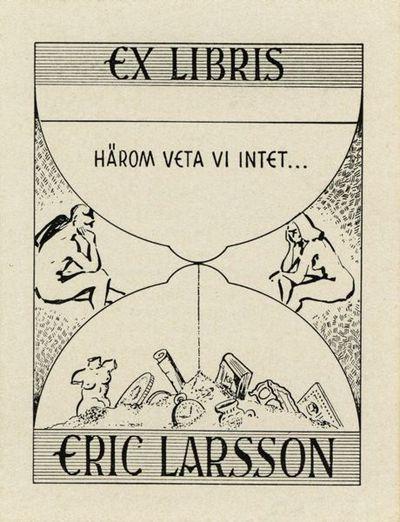 exlibris, bokägarmärke