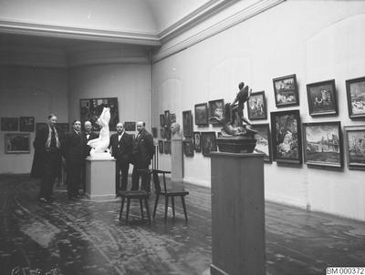 Image from object titled museum, konst, utställning, auras, tavla