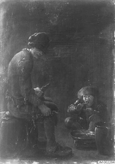Image from object titled målningar, målning, 1900-talet, malmö museum, museum, konst, tavla, man, museer, män, tavlor, pojke