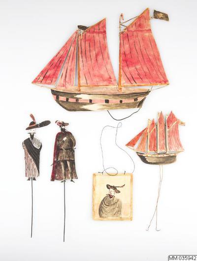 dockteater, skådespel för, den flygande holländaren