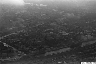 Image from object titled flygbilder, bebyggelser, kanal, väg, bebyggelse, flygbild, kanaler, vägar