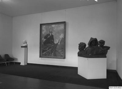 Image from object titled malmö museum, sovjetisk konst, 1964, utställning, konst, utställningar, rysk konst, 1960-talet, museum, museer