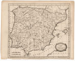 Spain and Portugal from the best authorities / Barlow sc. ; London, publish'd as the Act directs by C. Brightly & F. Kennersly