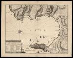 Plan de la ville et baye de Gibraltar / levé sur les lieux par feu Mr. Renaud