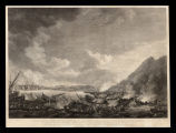To Gen. Sir Geo. Elliot... this representation of the brave & gallant defence of Gibraltar; against the united force of Spain and France, on the 14th. Sept. 1782... is humbly inscribed by Richard Paton