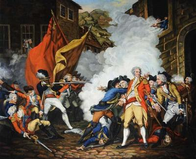 Battle of Jersey, The Death of Major Peirson