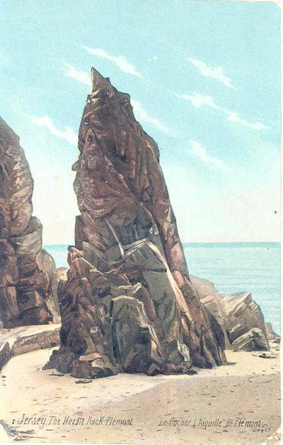 The Needle Rock, Plemont