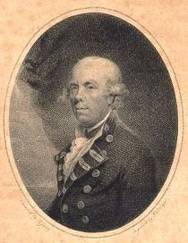 Barrington, Samuel Admiral of the Blue