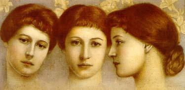 Langtry, Lillie (three views)