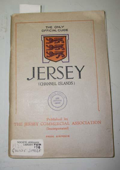 Jersey (Channel Islands) Official Guide Book