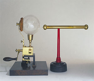 Image from object titled Portable globe electrical machine (Inv. 444)