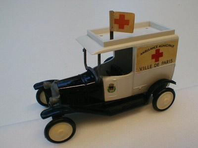 Ambulance Municipale - Ville de Paris