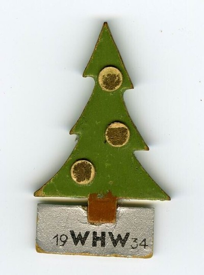 Image from object titled Kerstboom WHW 1934