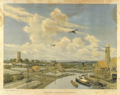 """Image from object titled Bloemen-""""Fabrieken"""" te Aalsmeer"""