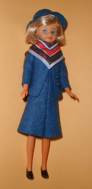 Image from object titled KLM stewardess