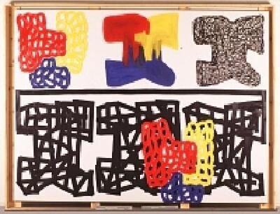 Interpretative painting - Cuadro