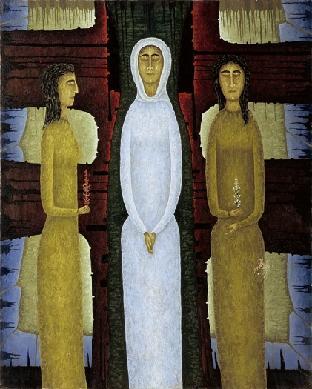 Tres figuras - Cuadro