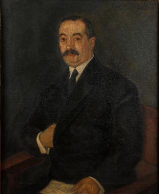José Mª de Garay y Rowart, conde del Valle de Suchil, alcalde de Madrid - Pintura de caballete