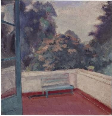 Azotea de mi casa - Pintura