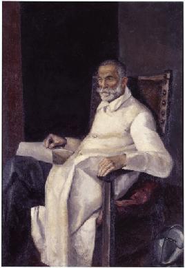 Retrato de Francisco Alcántara - Pintura