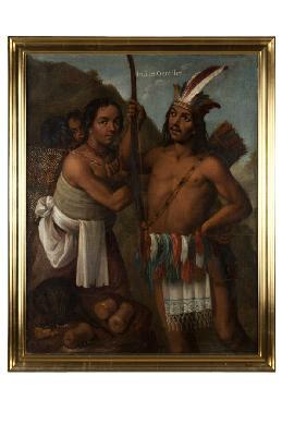 Indios gentiles - Cuadro